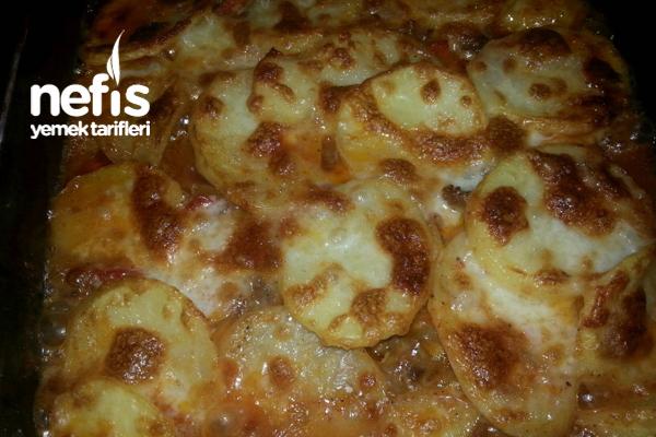 Etli Patates Lazanya Tarifi