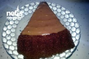Çikolata Muhallebili Tart Kek Tarifi