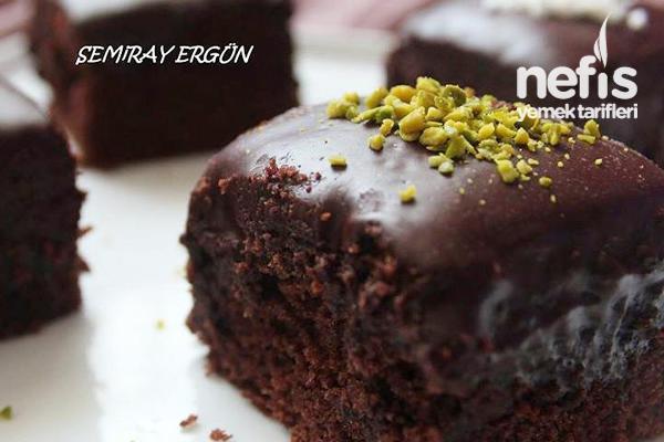 Çikolatalı Islak Kek 1