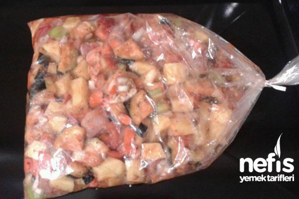 Fırın Torbasında Sebzeli Tavuk 1