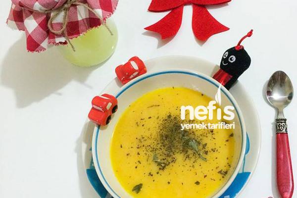 Peynir Altı Suyuna Sebze Çorbası (+ 8 Ay) Tarifi