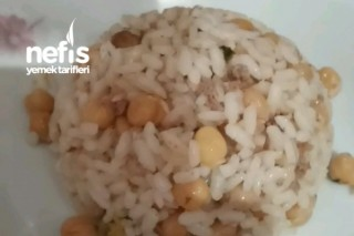 Nohutlu Kıymalı Pirinç Pilavı Tarifi