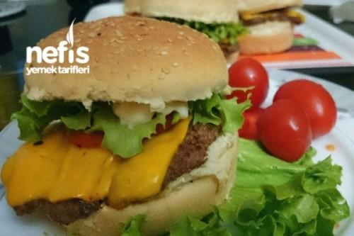 Evde Cheeseburger Yapımı