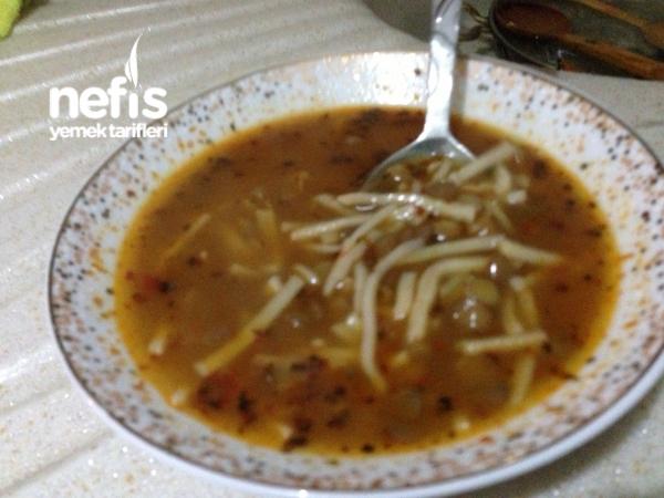 Aş Çorbası(yeşil Mercimek, Erişte Çorbası)