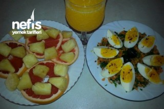 Sağlıklı Kahvaltım (Diyet) Tarifi