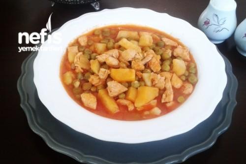 Tavuklu Bezelye Yemeği Tarifi - Ayşegül Altaş - Nefis ...