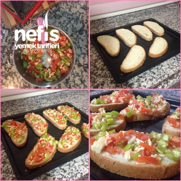 Kolay Ekmek Pizza Nefis Yemek Tarifleri