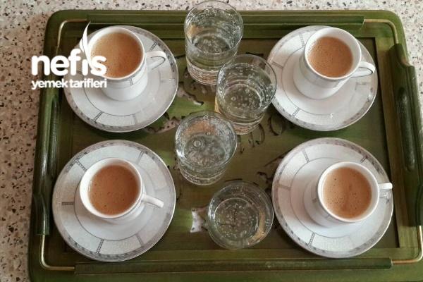 Bol Köpüklü Dibek Kahvesi Yapımı
