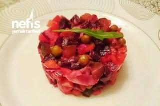Kuru Fasulyeli Vinegret Salatası Tarifi
