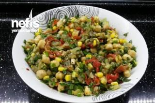 Nohutlu Patlıcan Salatası Tarifi