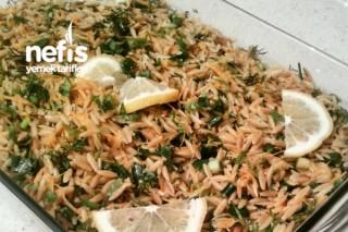 Cevizli Arpa Şehriye Salatası Tarifi