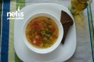 Minestrone Çorbası (italyan Sebze Çorbası)