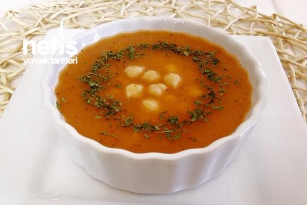 Nohutlu Tarhana Çorbası Tarifi