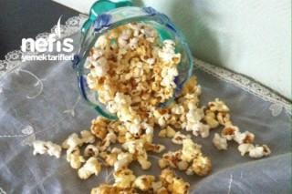 Patlamış Mısır Keyfi Karamelli Popcorn Tarifi
