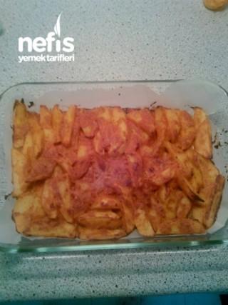 Hardal Soslu Fırın Patates