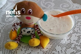 Hem Sağlıklı Hem Tatlı Yoğurdumuz(+6 Ay:) Tarifi