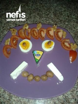 Miniklere Kahvaltı Tabağı