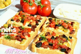 Tost Ekmeği İle Pizza 4