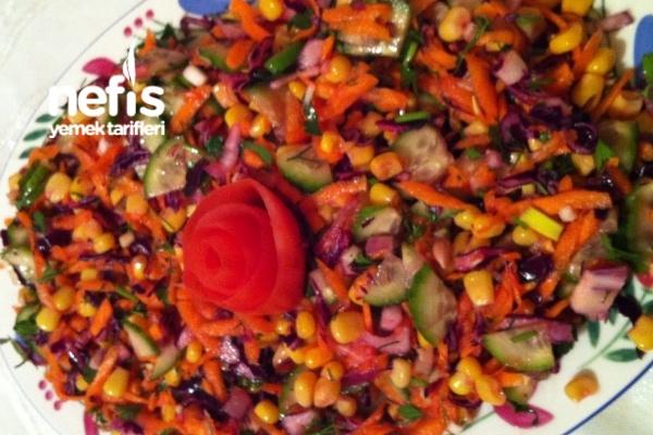 Turlu Sık Salata