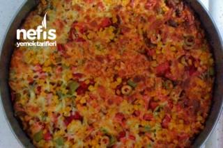 Ekmek Hamurundan Kolay Pizza Tarifi