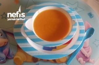Havuçlu Tatlı Patatesli Bebek Çorbası + 6ay Tarifi
