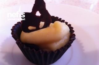 Limon Kremalı Çikolata Kaseleri Tarifi