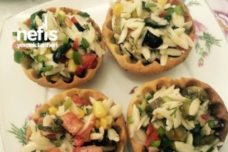 Çıtır Salata Kasesinde Şehriye Salatası Tarifi