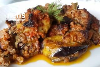 Fırında Kıymalı Patlıcan Musakka (videolu) Tarifi