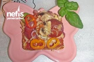 Tost Pizzası Tarifi