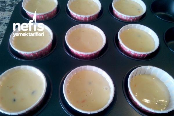 Nefis Cupcake Yapımı