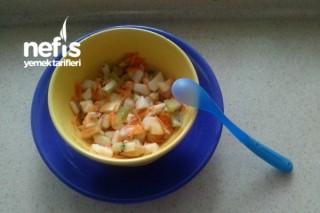 Ali Beratın Meyve Salatası (+ 12 Ay) Tarifi
