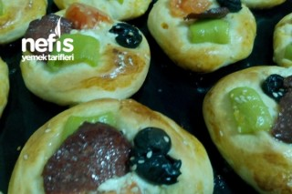 Minik Pizza Poğaça Tarifi