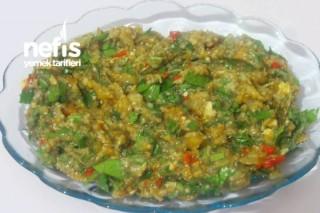Ebu Gannuç (Hatay Usulü Közlenmiş Patlıcan) Tarifi