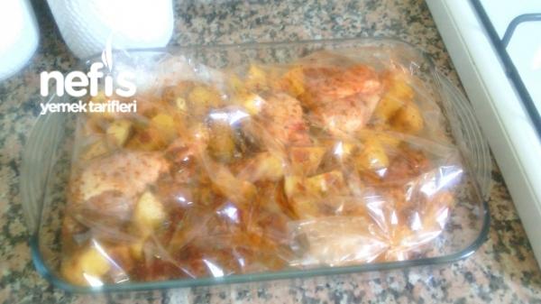Fırında Baget-patates