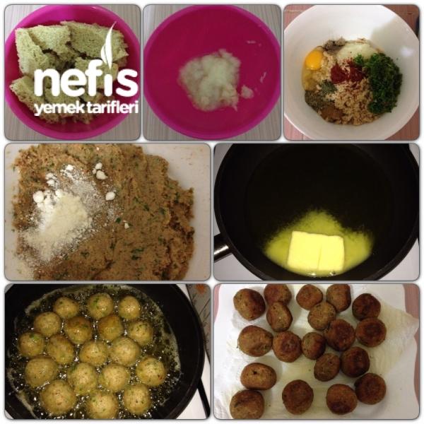 Bayat Ekmek Köftesi ve Poşette Patates