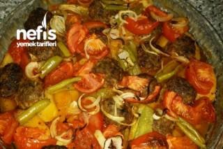 İzmir Köfte (Fırında Patates Köfte) Tarifi