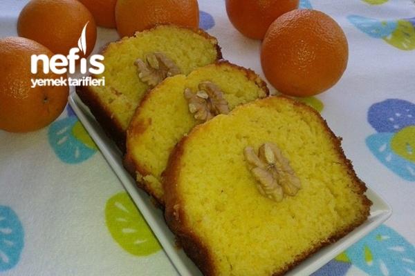Portakallı Islak Kek Tarifi