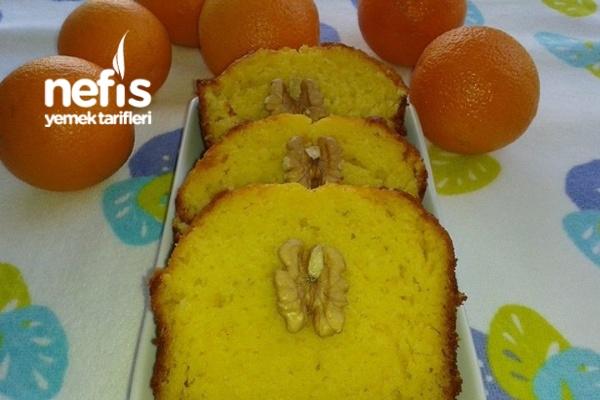 Portakallı Islak Kek