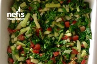 Yağ Yaktıran Rokalı Kabak Salatası Tarifi