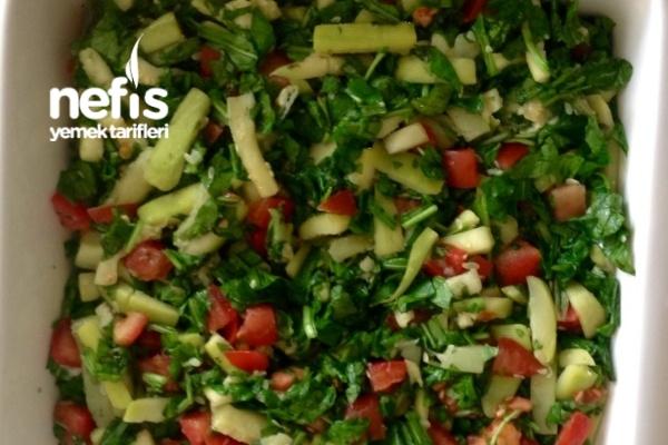 Yağ Yaktıran Rokalı Kabak Salatası