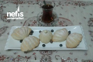 Deniz Kabuğu (İçinde Çikolata Sosu Saklı) Tarifi