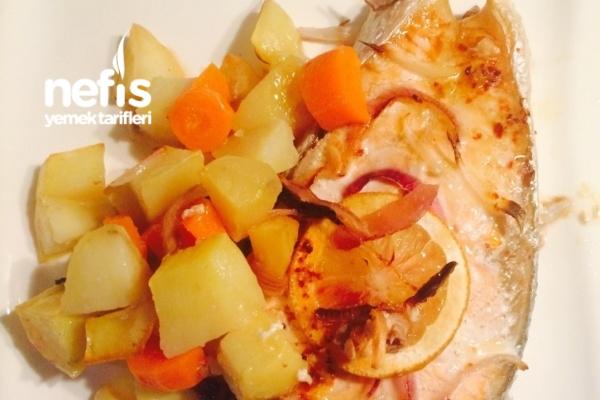 Fırında Patatesli Somon