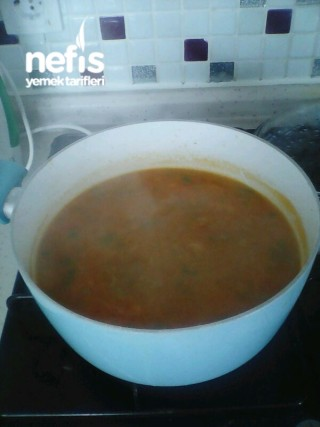 Pirinçli Helle Çorbası Tarifi