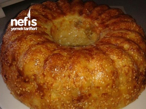 Kek Kalıbında Börek Tarifi(bol Malzemeli)