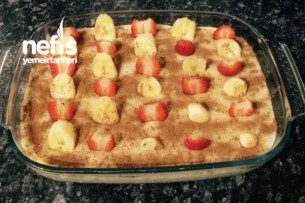 Meyveli Bisküvili Tavuk Göğsü Tarifi