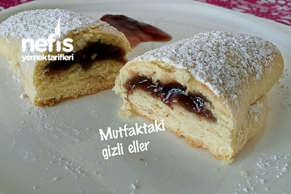 Vişneli Rulo Kurabiye Tarifi