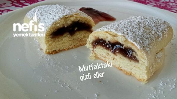 Vişneli Rulo Kurabiye