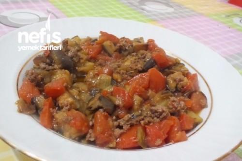 Kıymalı Patlıcan Yemeği Tarifi Videosu 27