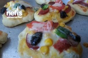 Mini Pizza Yapımı Tarifi