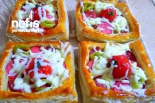 Milföylü Çabuk Pizza Tarifi